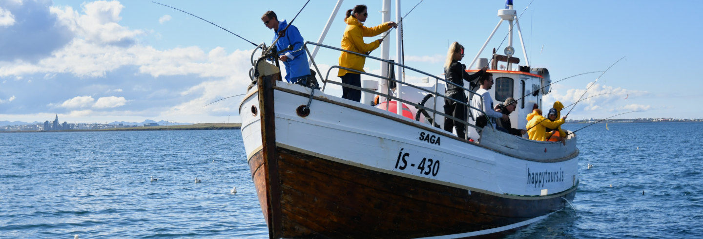 Pêche à Reykjavik