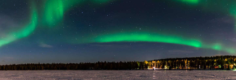 Tour dell'aurora boreale + Spa Laugarvatn Fontana