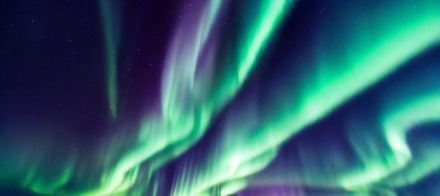 Tour in quad + Aurora boreale
