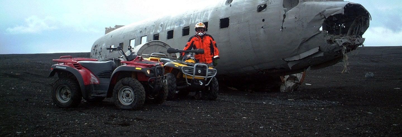 Tour in quad della costa sud dell'Islanda