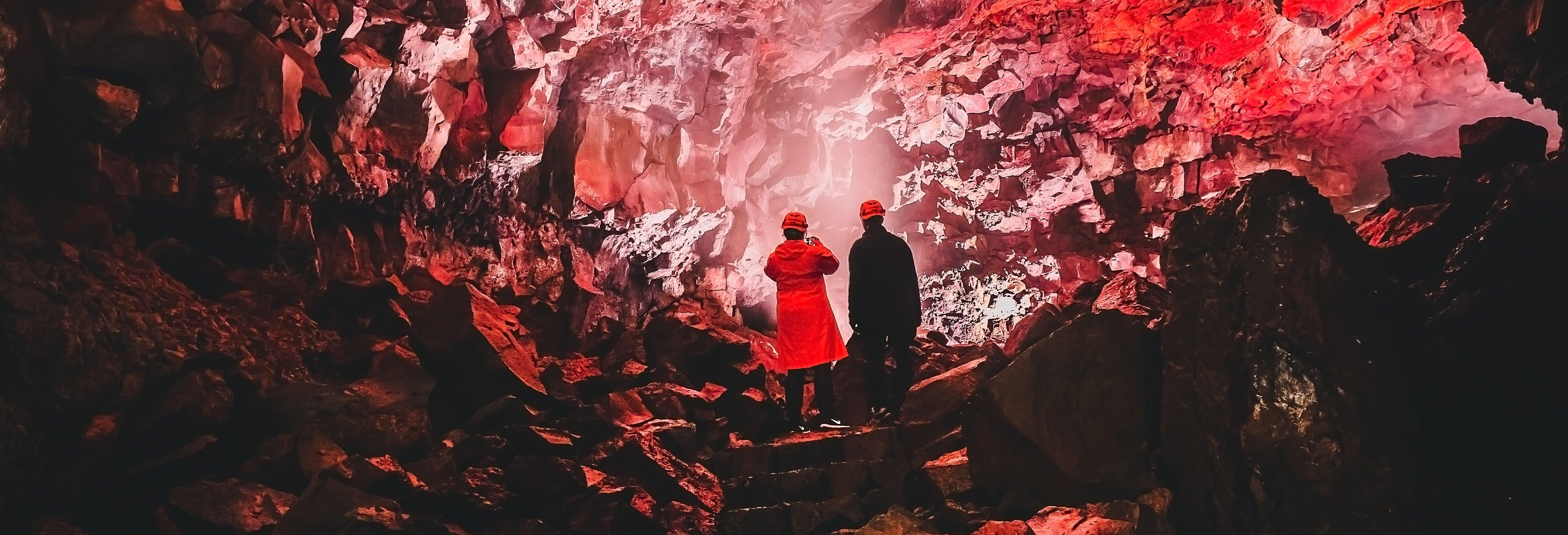 Tour del tunnel di lava di Raufarhólshellir