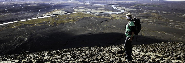 Trekking sul monte Högnhöfði