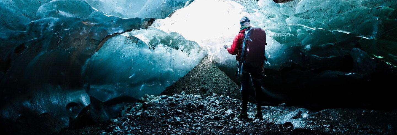 Trekking au glacier Vatnajökull et grotte bleue du glacier