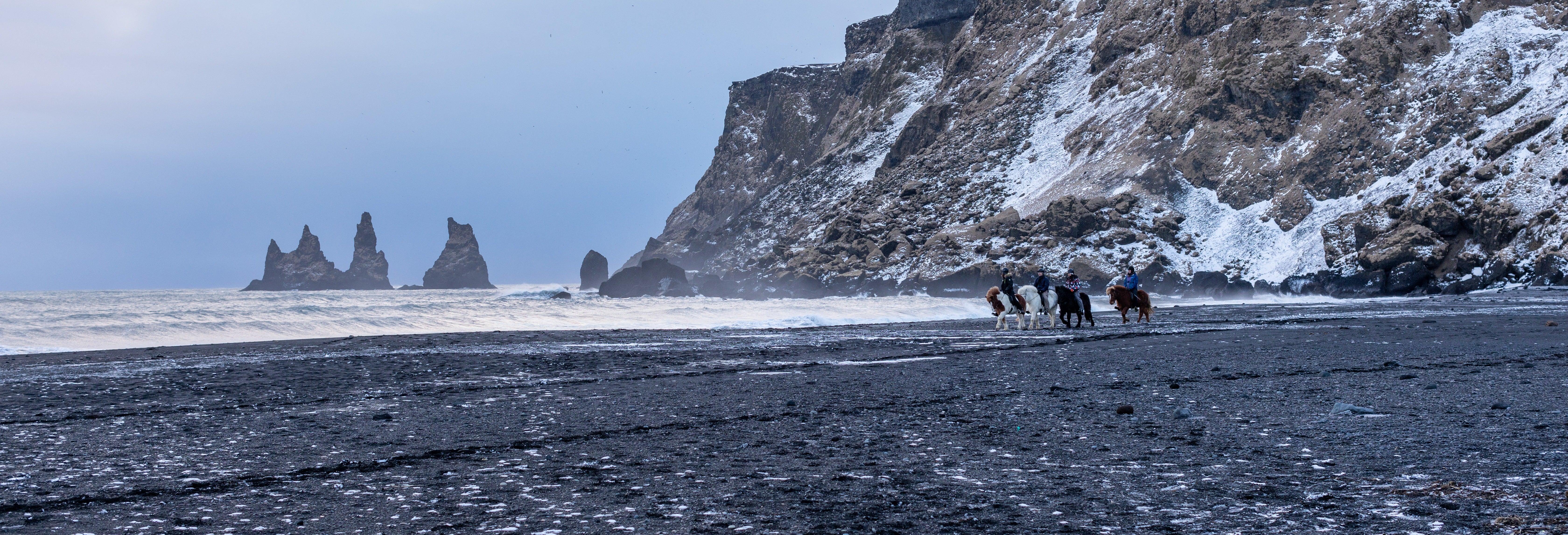 Paseo a caballo por Reynisfjara