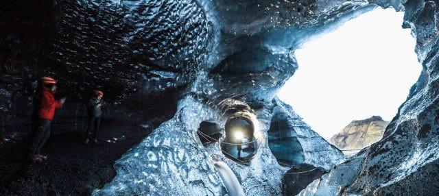 Tour por la cueva de hielo del glaciar Kötlujökull