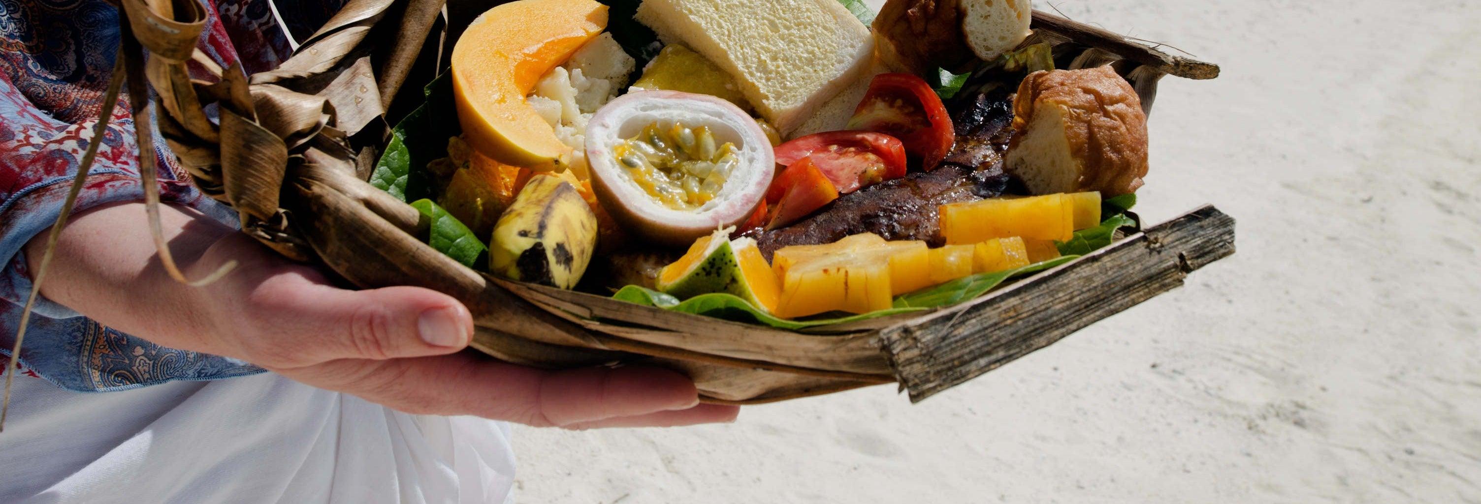 Cena tradicional en Rarotonga