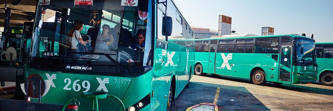Autobuses de Jerusalén