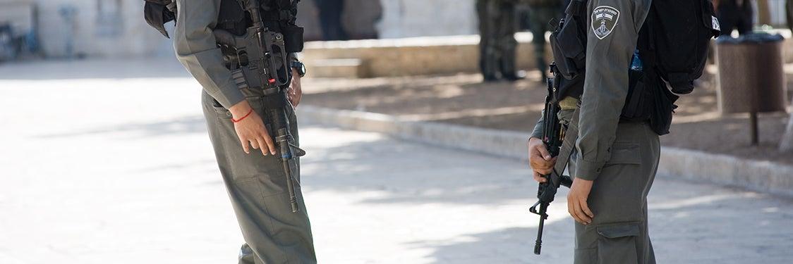 Segurança em Jerusalém