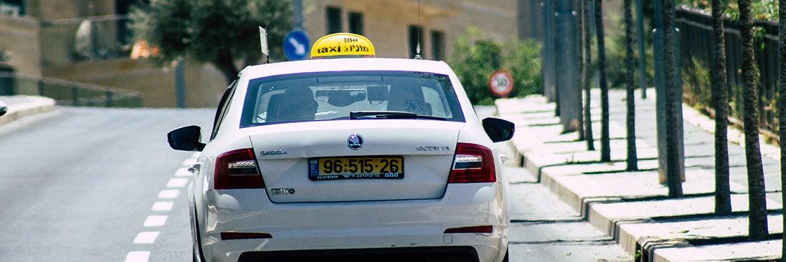Taxis à Jérusalem