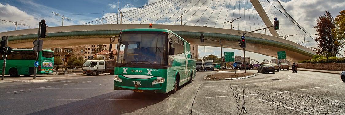 Transporte en Jerusalén
