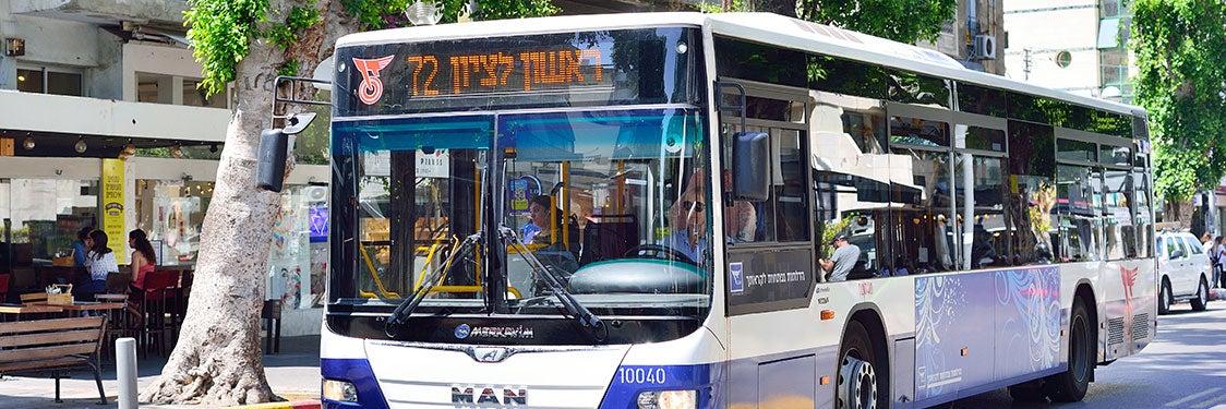 Bus de Tel-Aviv