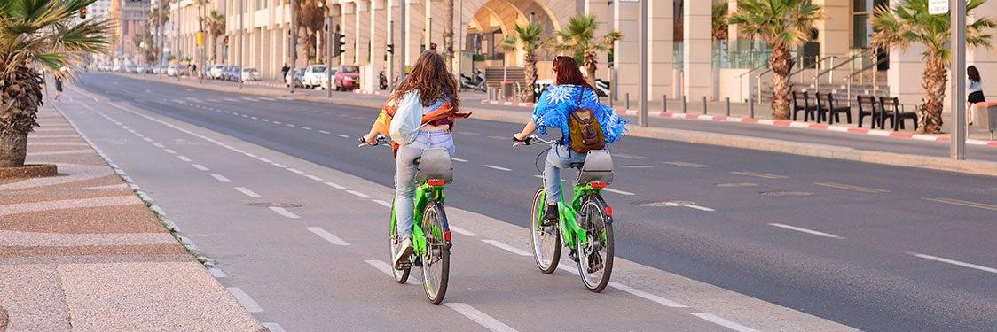 Bicicletas en Tel Aviv