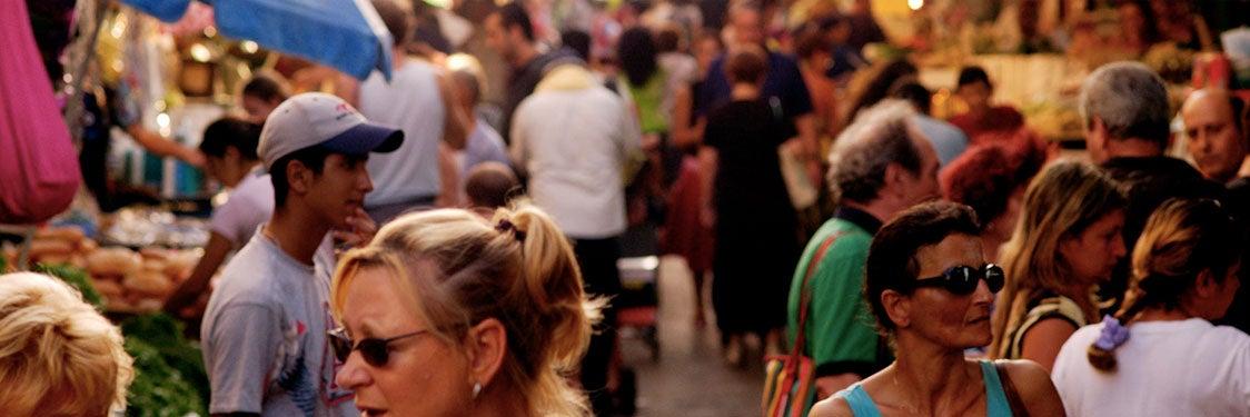 Horário comercial em Tel Aviv