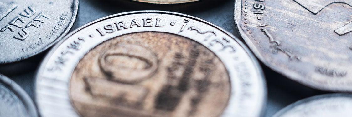 Moneda de Tel Aviv