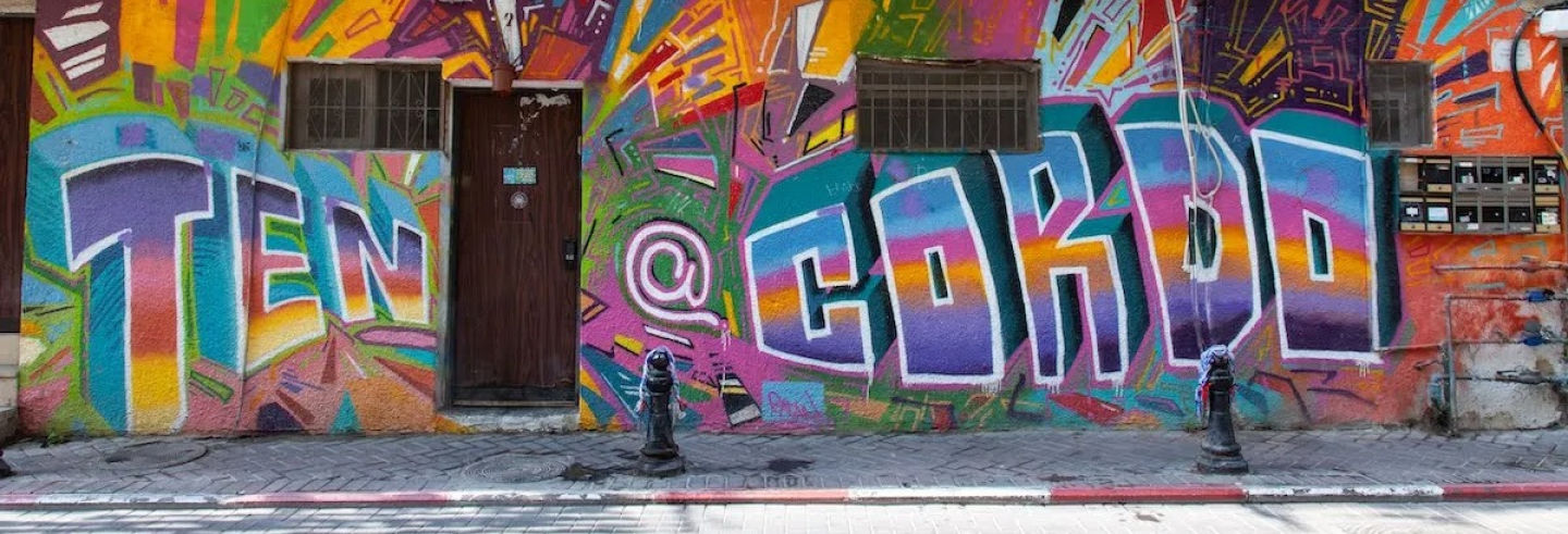 Tour della street art di Tel Aviv