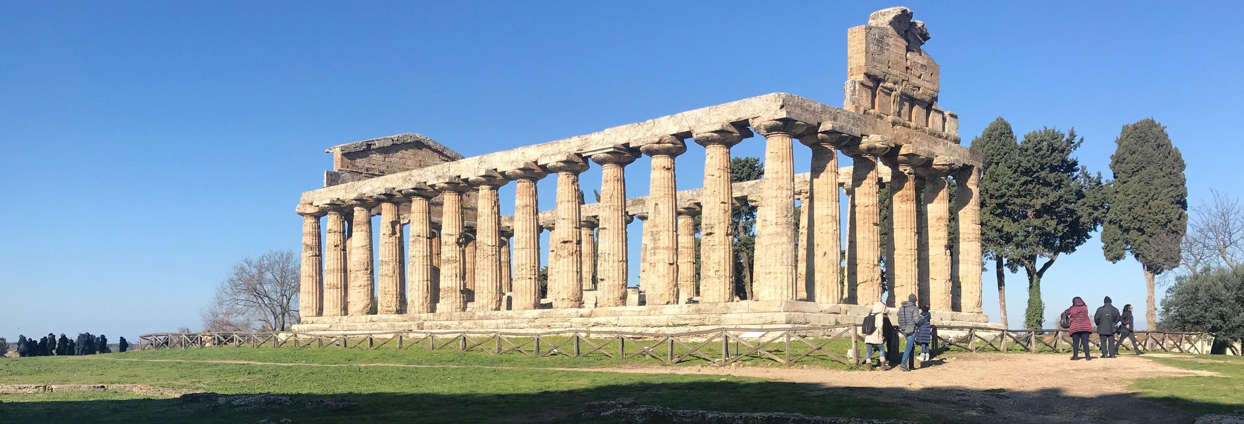 Excursão a Paestum