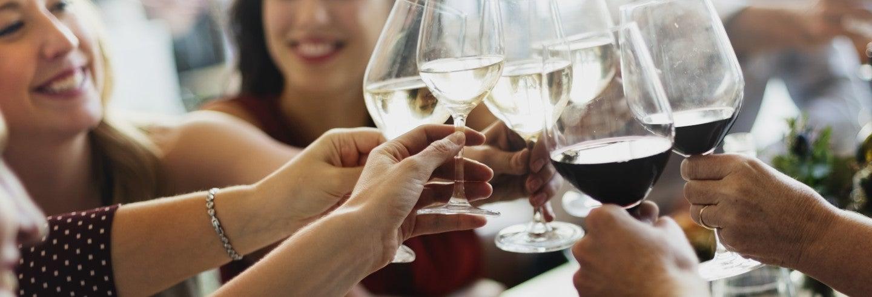 Degustação de vinhos e queijos