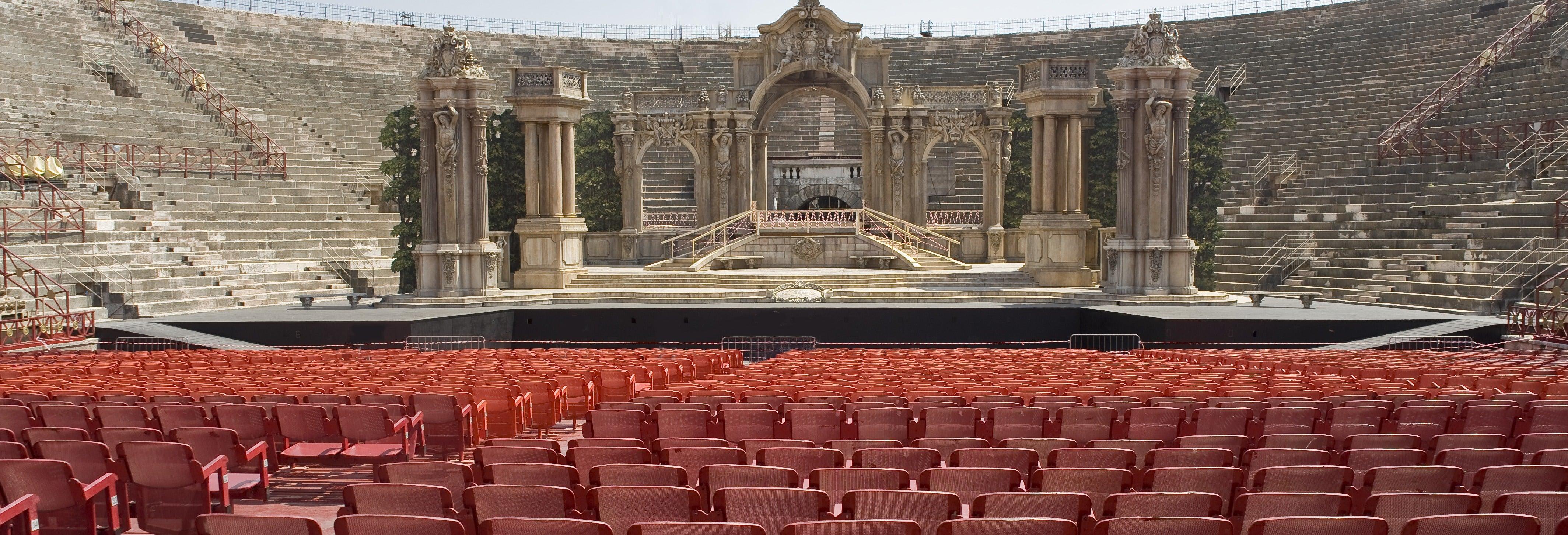 Espectáculo de ópera en el Festival Arena de Verona