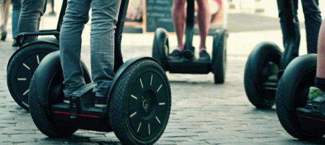 Tour di Bari in segway