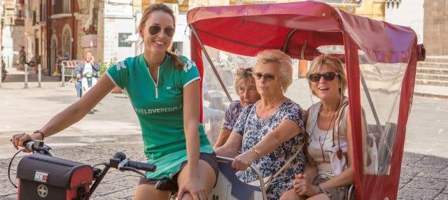 Tour di Bari in bici-risciò
