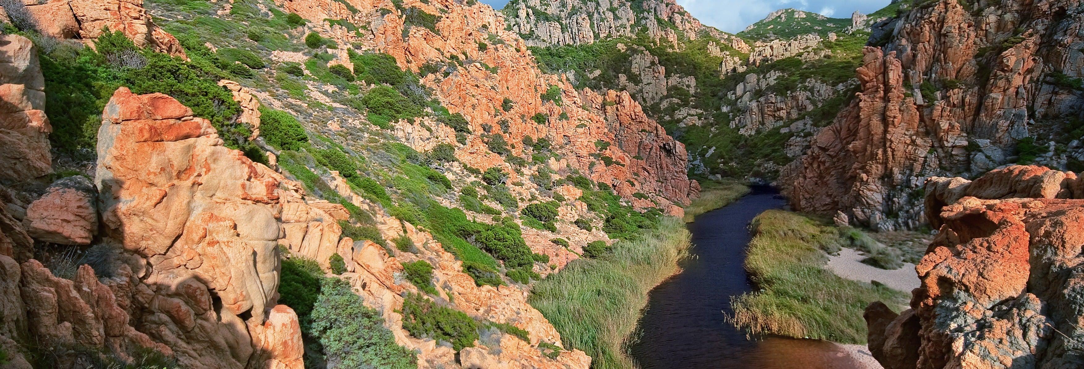 Rápel en el cañón Fuili
