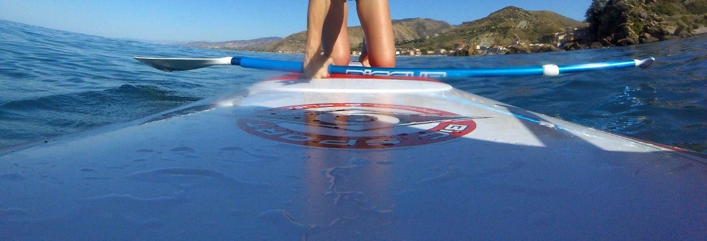 Curso de paddle surf en Castel di Tusa