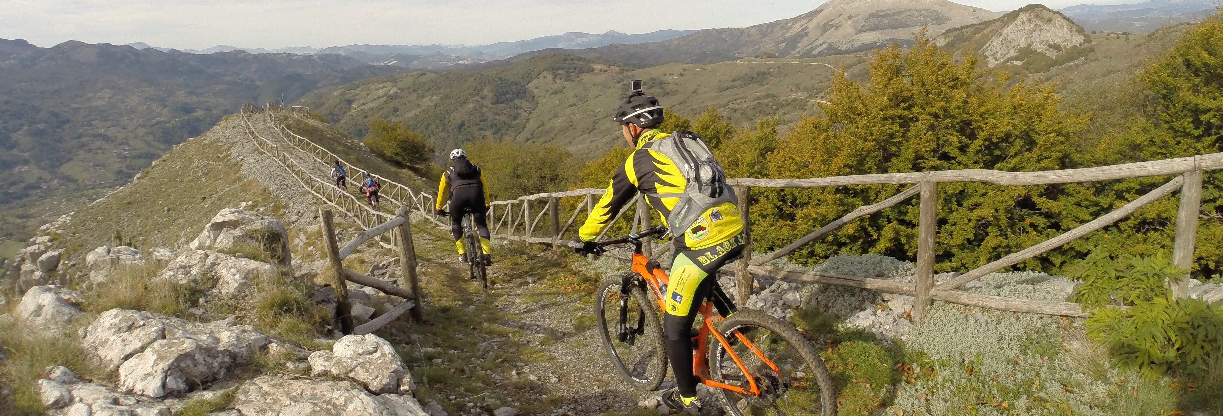 Tour en bicicleta por los Parques de la Basilicata