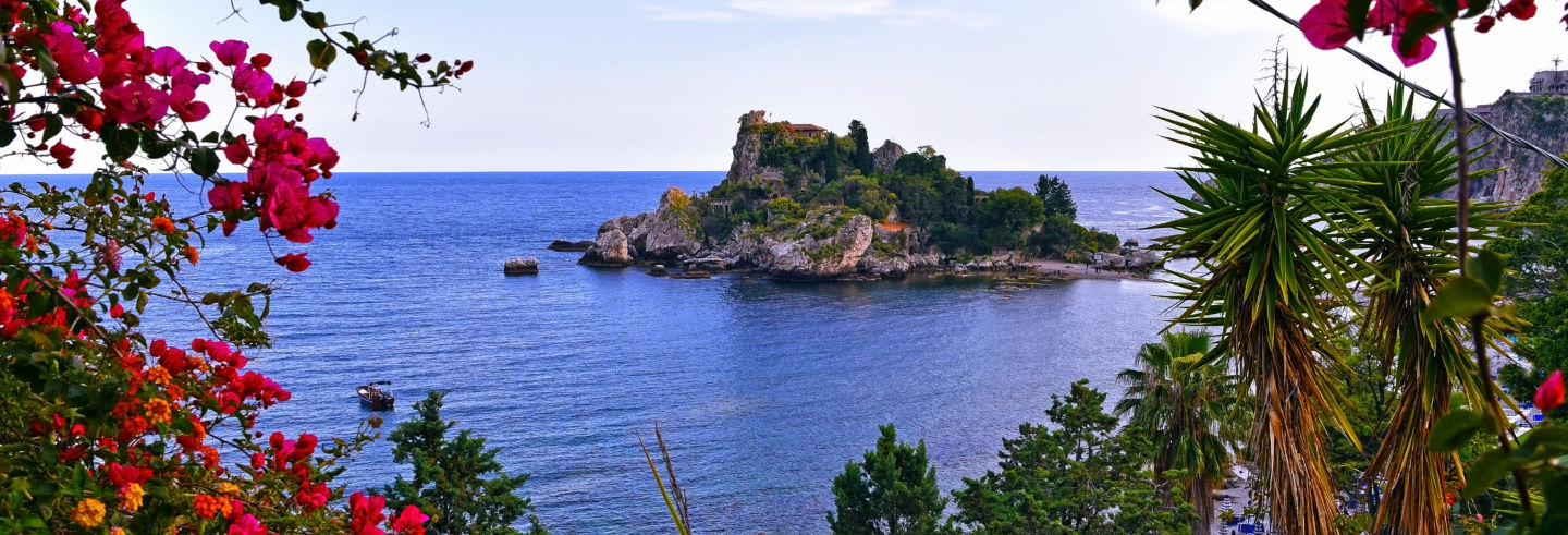 Excursão a Taormina e Isola Bella