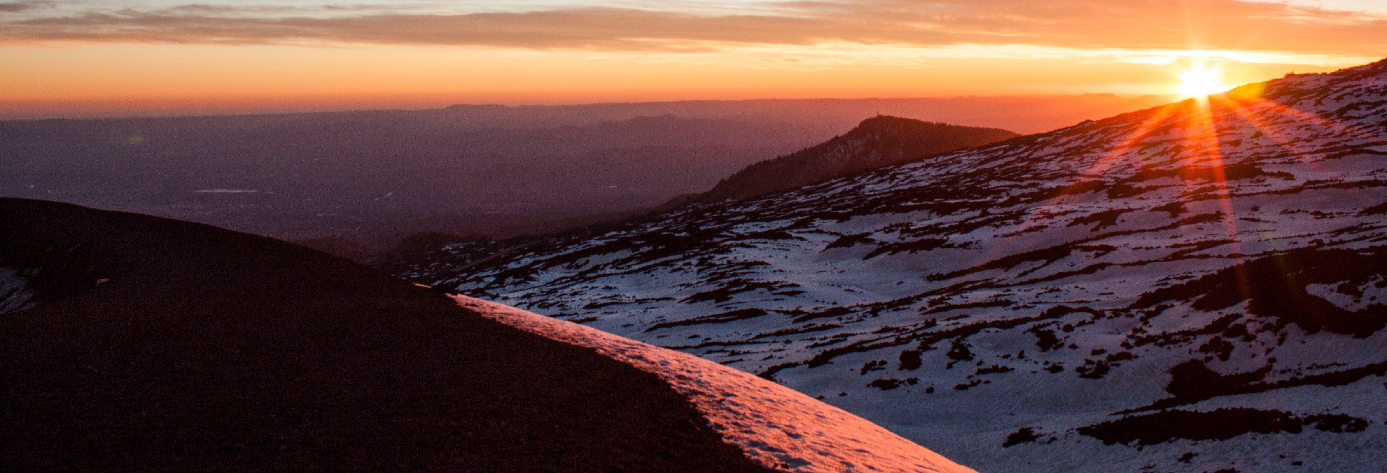 Tour en 4x4 por el Etna al atardecer