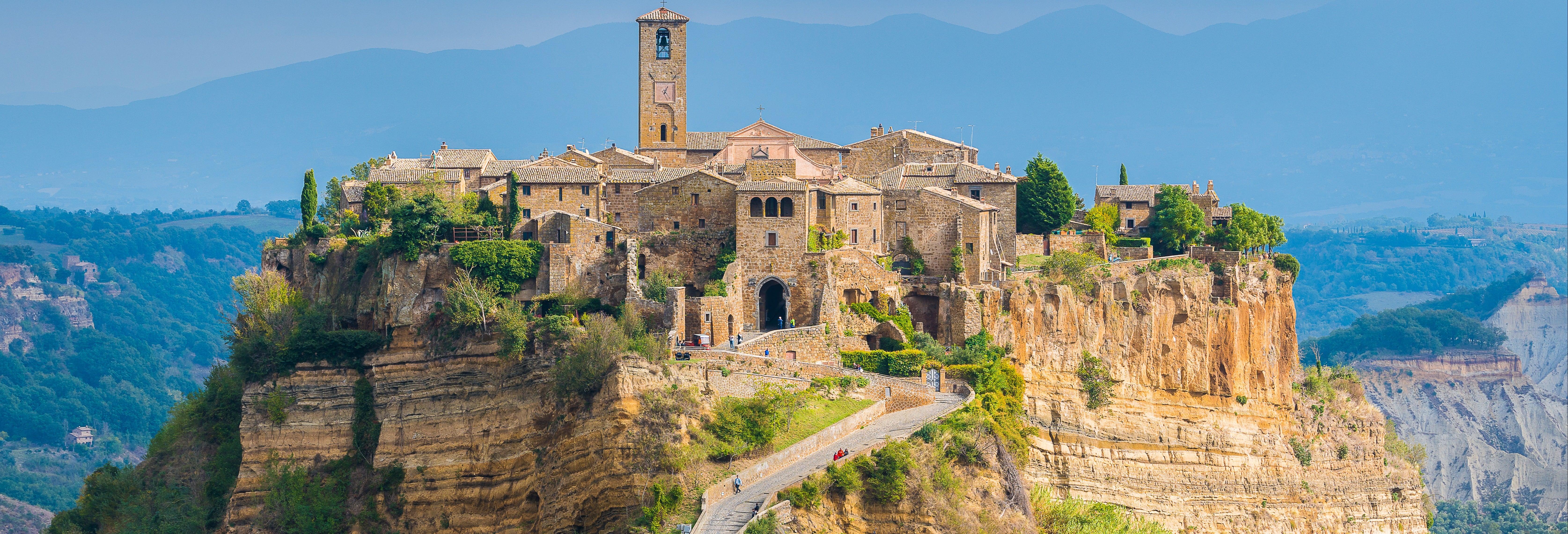 Excursión a Civita di Bagnoregio y Bosque Sagrado de Bomarzo