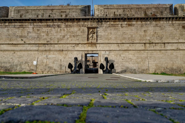 Entrance to the Fort of Michelangelo