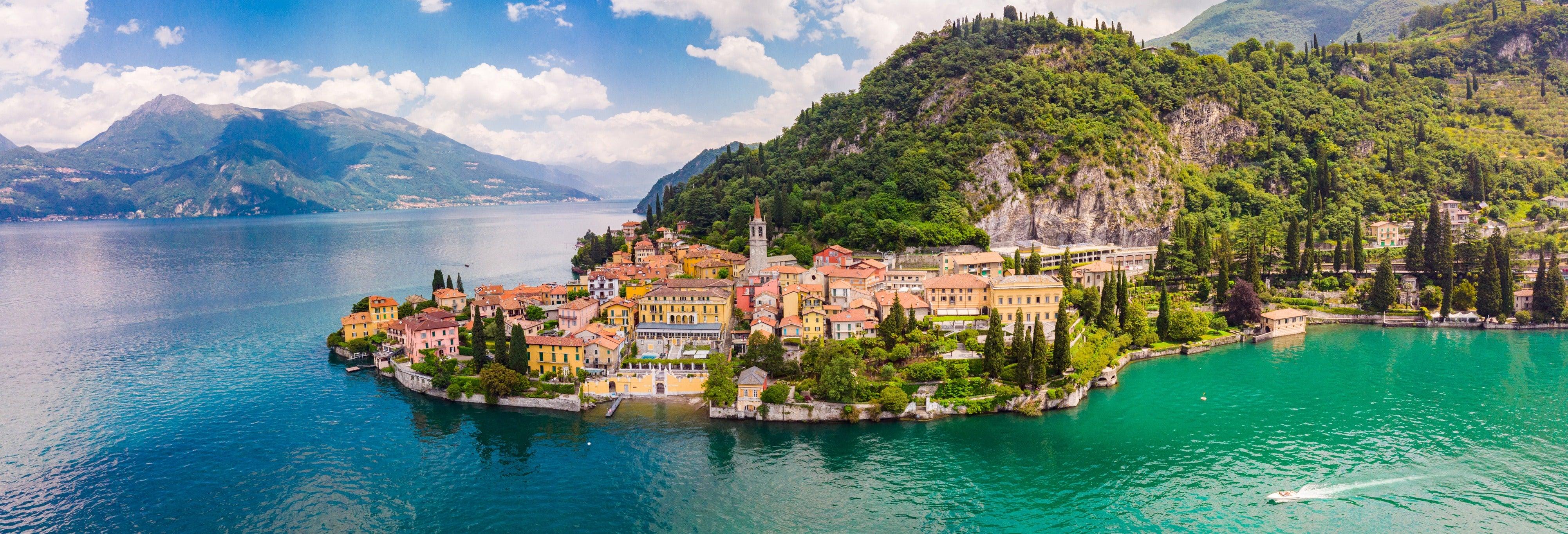 Tour pelo Lago de Como e Brunate