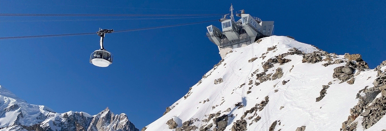 Biglietti per la funivia del Monte Bianco