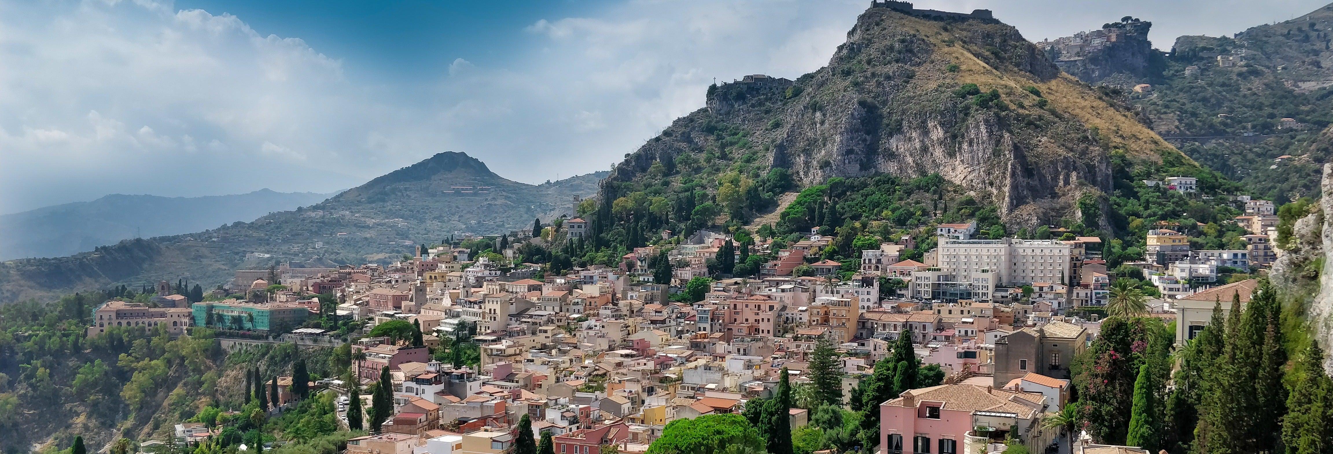 Excursão ao Etna e a Taormina