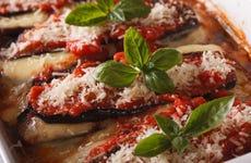 Clase de cocina toscana con comida
