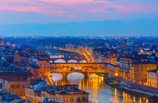 Free tour noturno por Florença