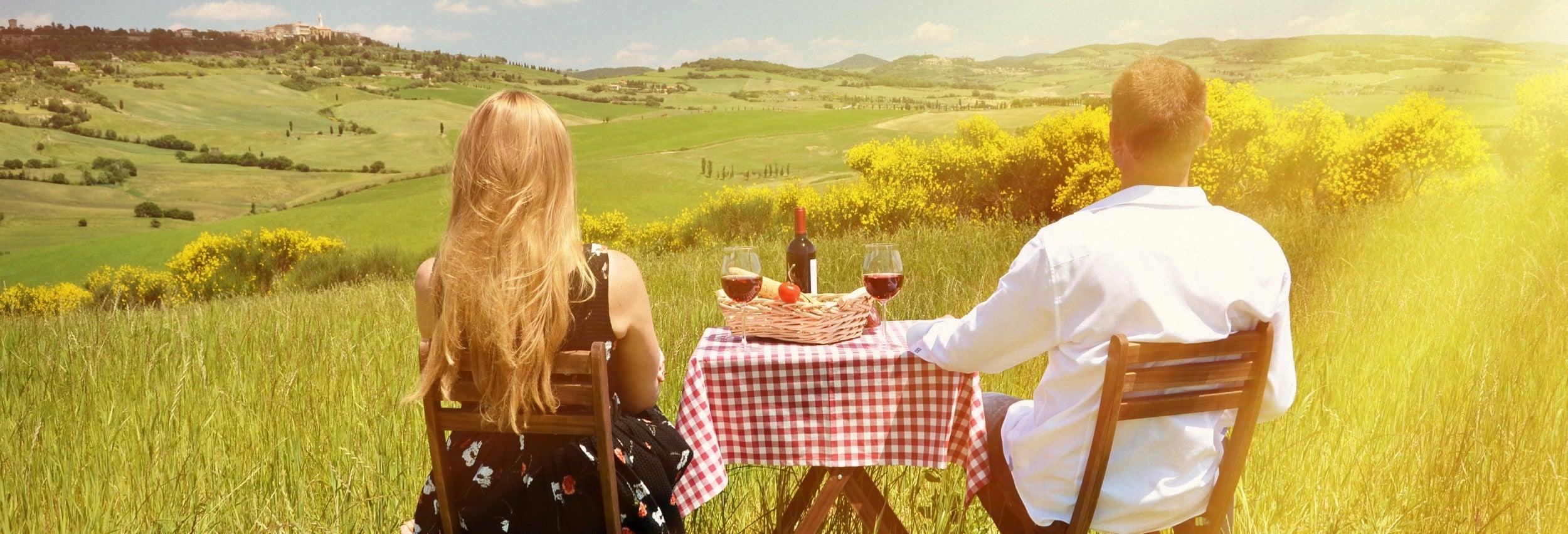 Route des vins dans la région du Chianti
