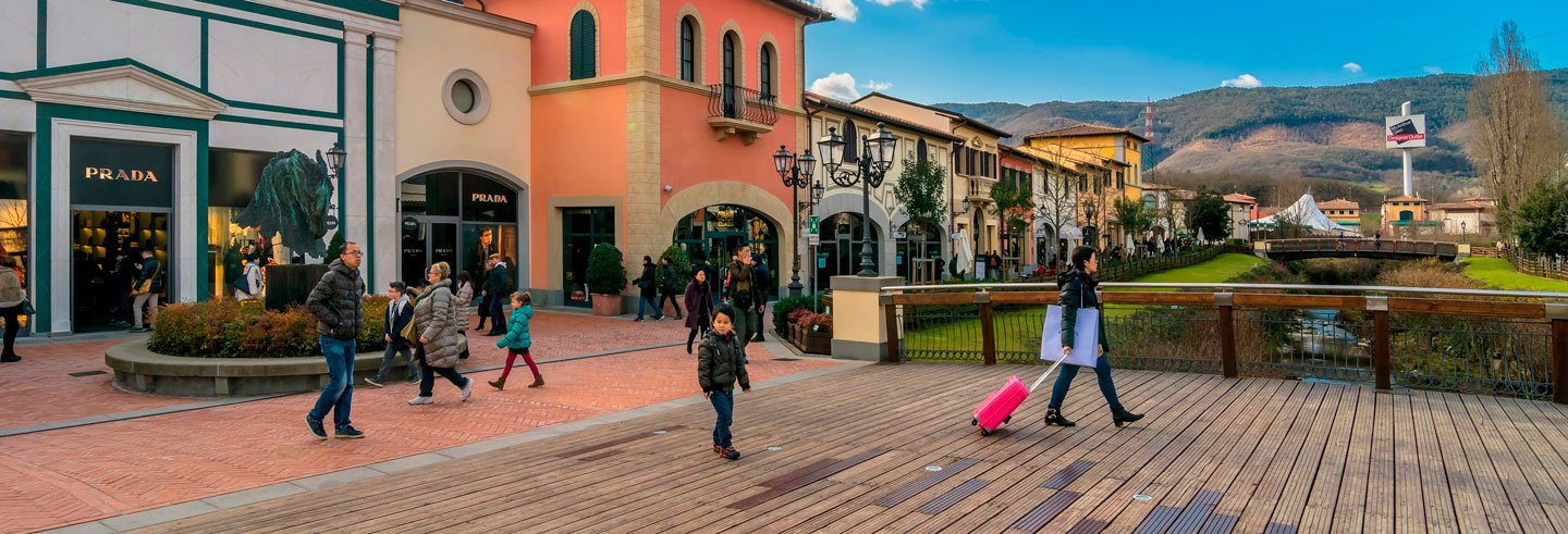 Tour dello shopping negli outlet di Firenze