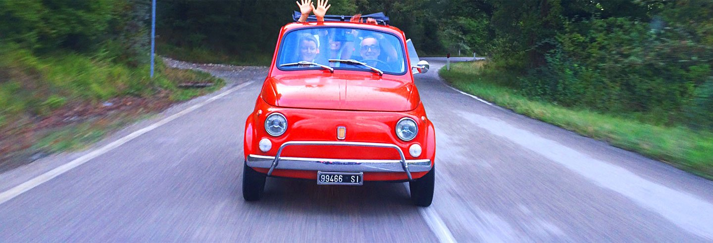 Chianti Full-Day Tour by Vintage Fiat 500