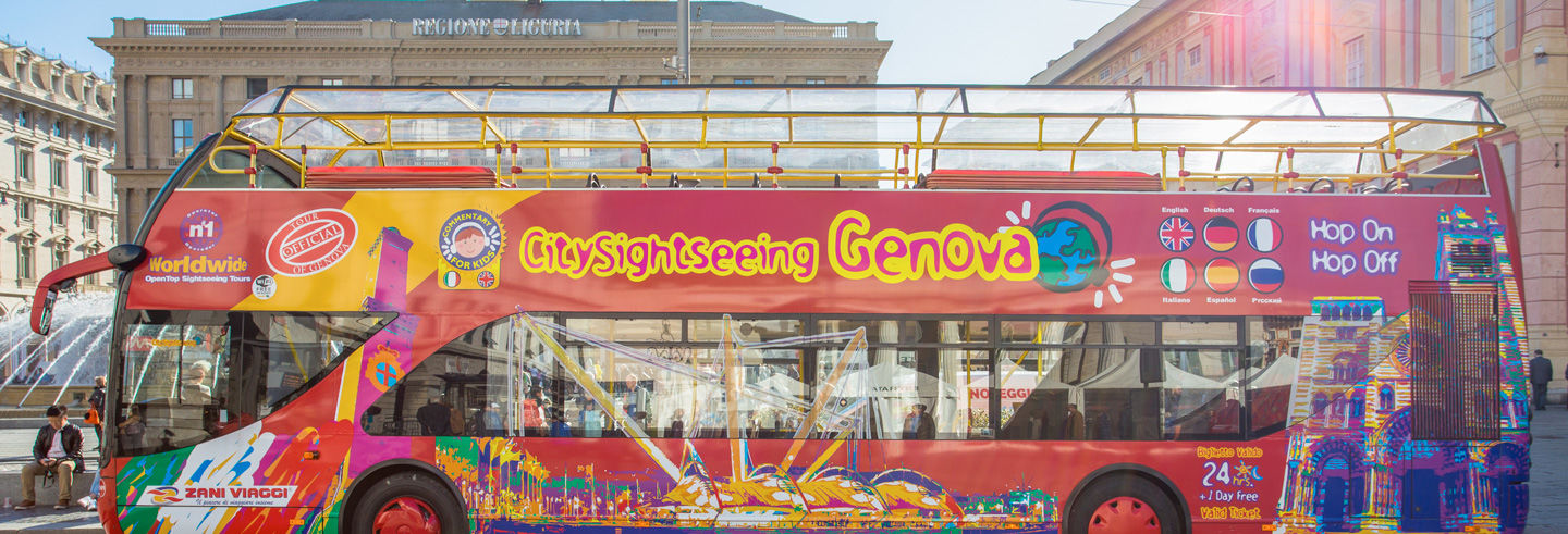 Autobús turístico de Génova