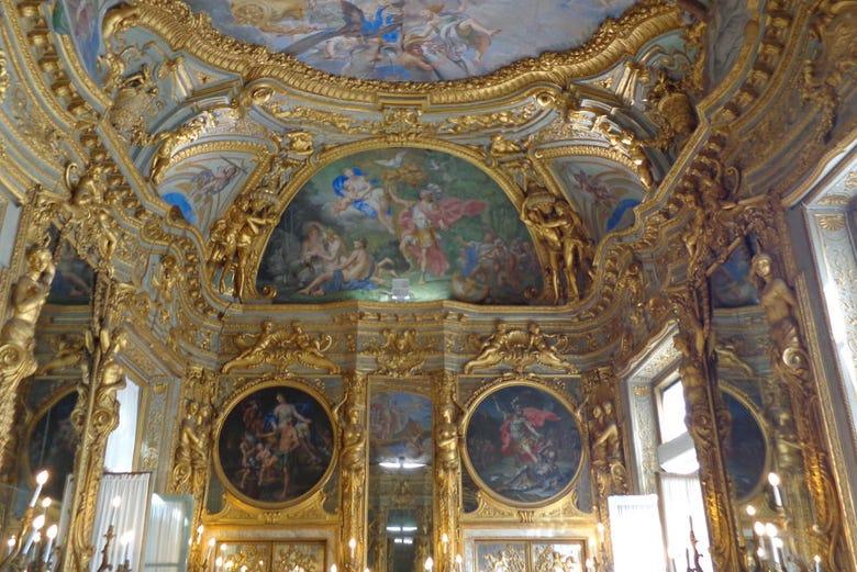 Interior del Palacio de Tobia Pallavicino