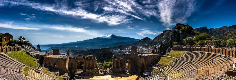 Excursion à l'Etna et Taormine