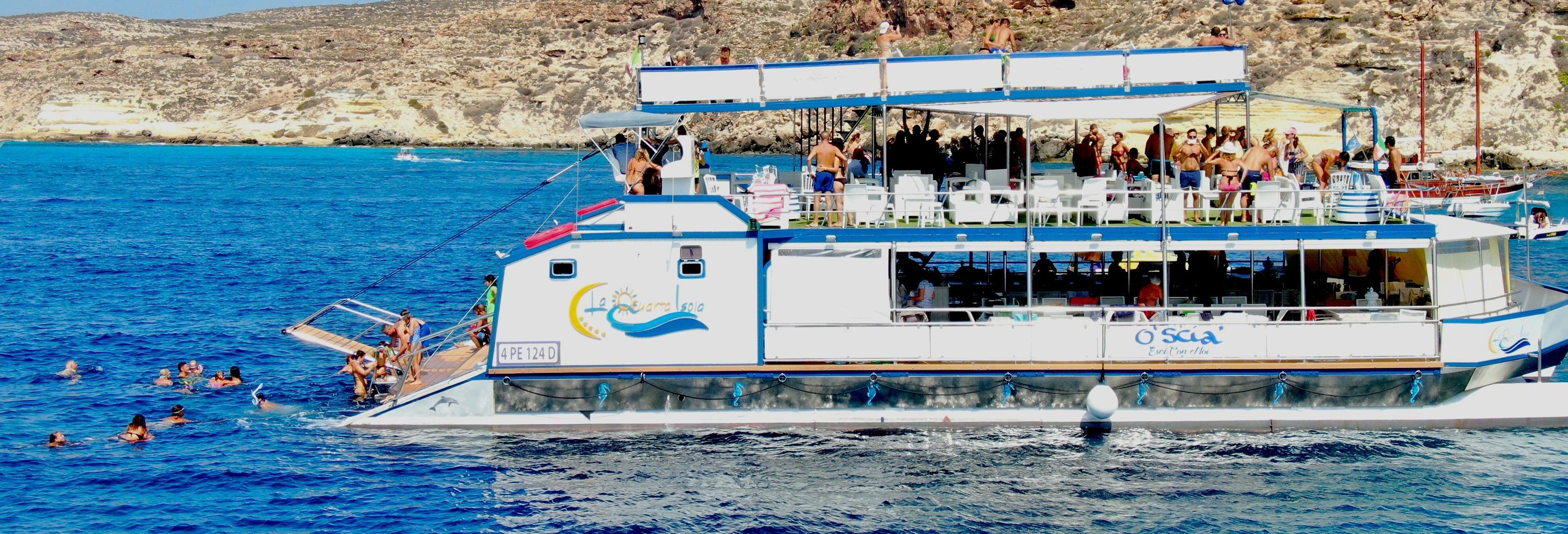 Crociera a Lampedusa