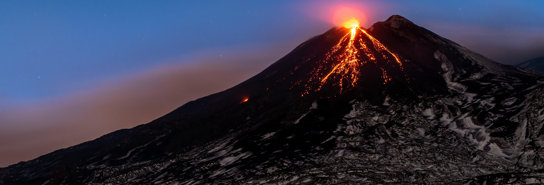 Senderismo por el Etna con observación de estrellas