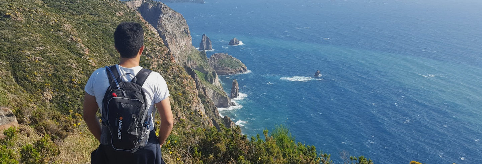 Randonnée à Lipari