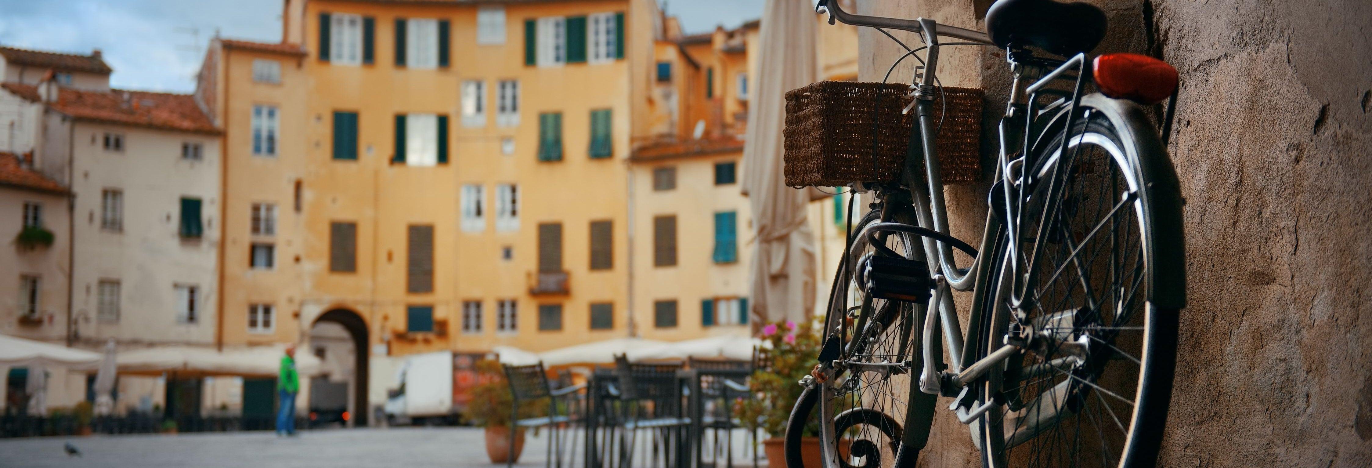 Aluguel de bicicletas em Lucca