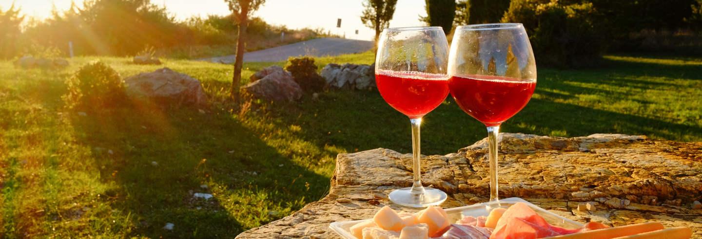 Degustazione di vino in Valdichiana