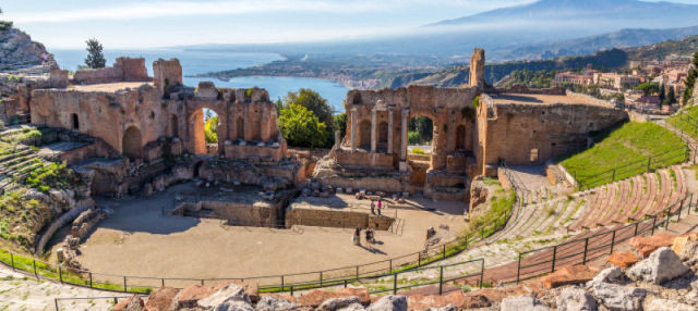Escursione a Taormina e Castelmola