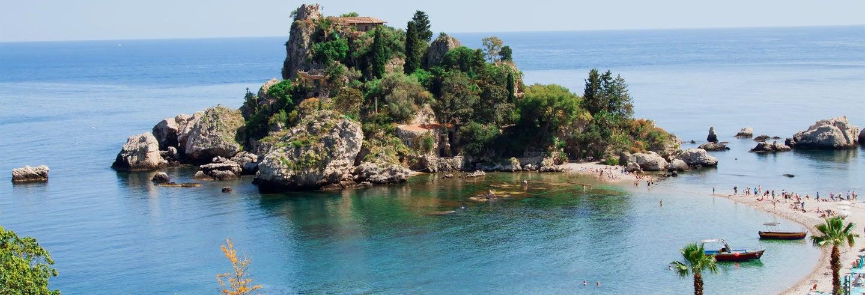 Excursión a Taormina e Isla Bella