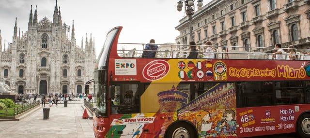 Autobus turistico di Milano
